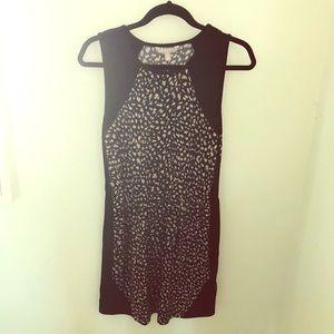 Banana Republic Stretchy Leopard Dress